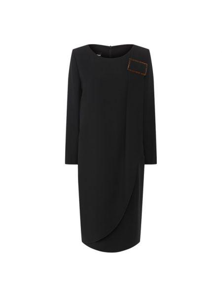 Платье шелковое из вискозы Giorgio Armani