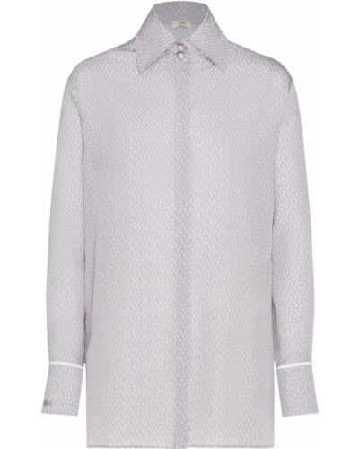 Блузка с длинным рукавом шелковая средний Fendi