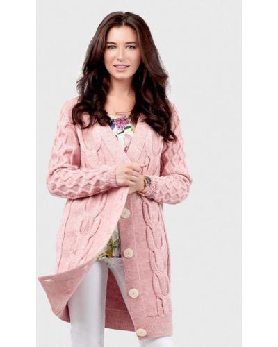 Кардиган - розовый Happychoice