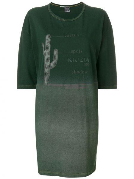 Футбольное платье мини винтажное Krizia Pre-owned