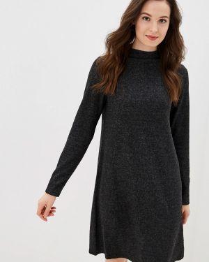 Платье серое платье-свитер Only Carmakoma