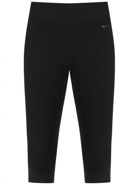 Черные укороченные брюки с поясом Track & Field