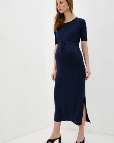 Синее платье летнее Mama.licious