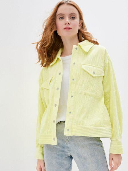 Облегченная желтая куртка Mbym