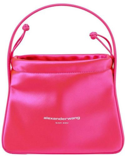 Różowa torebka Alexander Wang