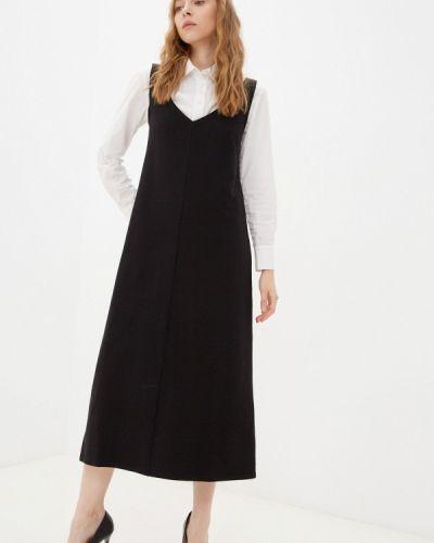Платье-майка - черное Vivostyle