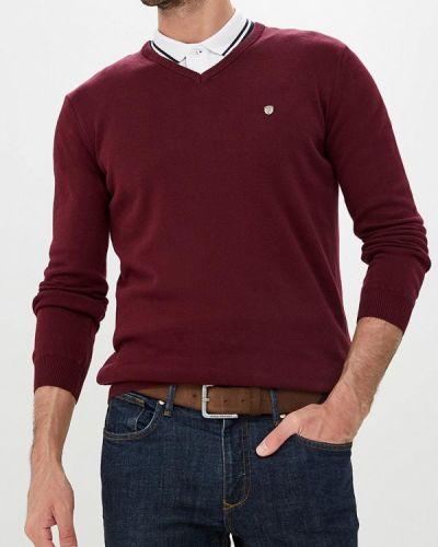 Пуловер желтый красный Jimmy Sanders
