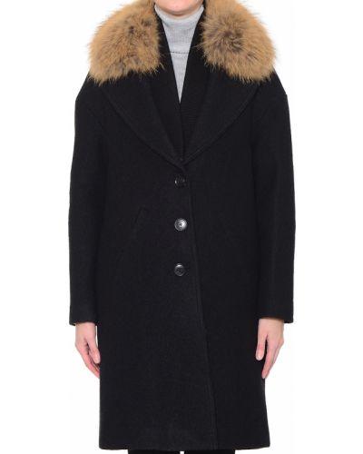 Черное пальто Soia & Kyo