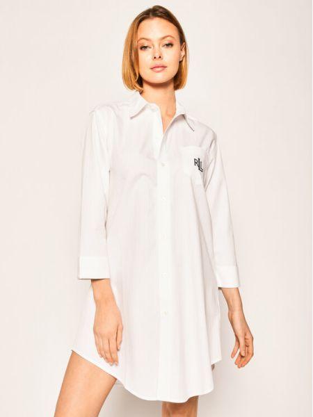 Koszula nocna - biała Lauren Ralph Lauren