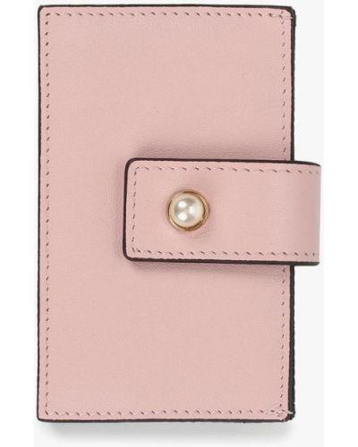 Розовая визитница Vitacci