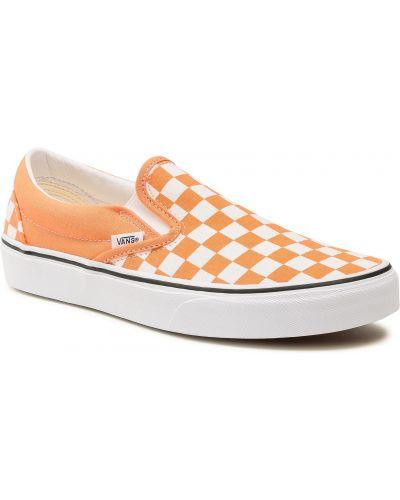 Tenisówki - pomarańczowe Vans
