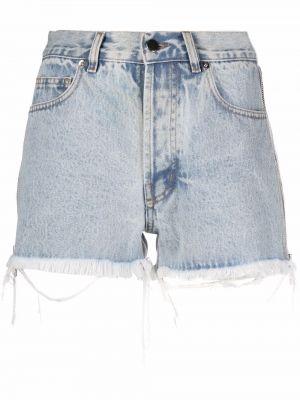 Синие джинсовые шорты классические Almaz