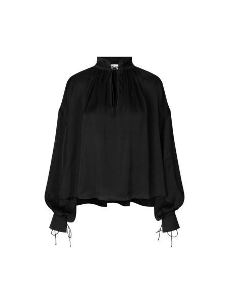 Czarna bluzka Ravn