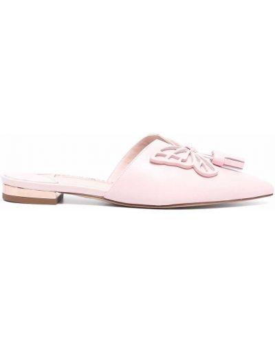 Кожаные мюли - розовые Sophia Webster