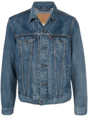 Классическая синяя джинсовая куртка на пуговицах прозрачная Levi's®