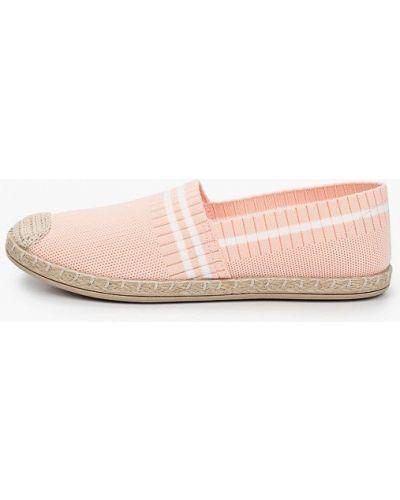 Текстильные розовые эспадрильи Crosby