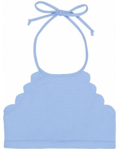 Niebieski top dwustronny Marysia Bumby
