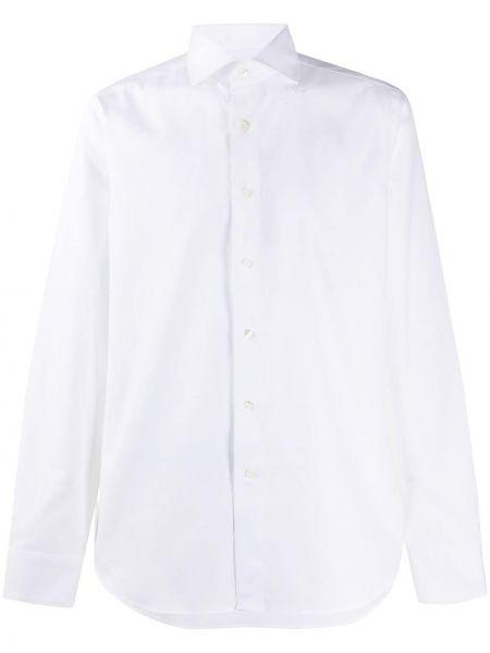 Koszula z długim rękawem klasyczna prosto Canali