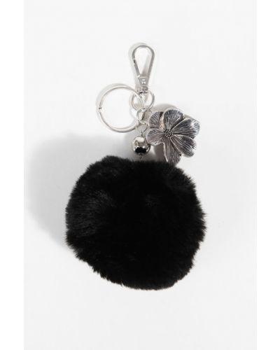 Черный брелок с камнями Parfois
