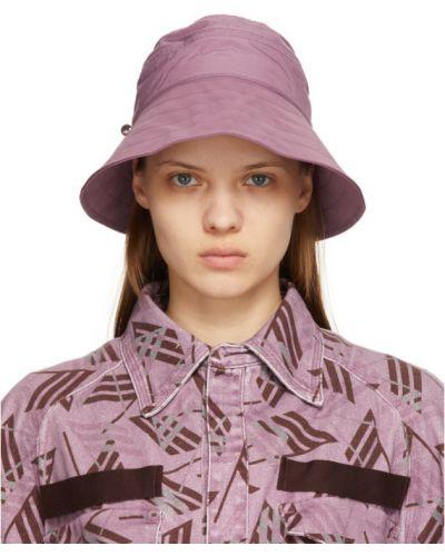 Нейлоновая фиолетовая шапка The Attico