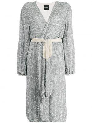 Платье миди с запахом винтажная Retrofete