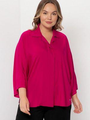 Розовая зимняя блузка Samoon By Gerry Weber