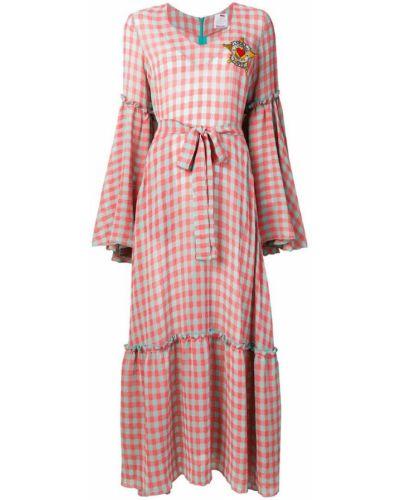 Платье розовое в клетку Ultràchic