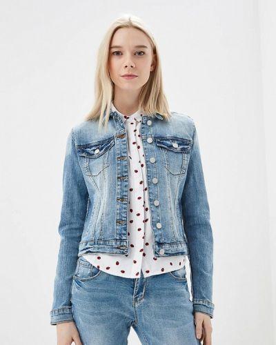 Джинсовая куртка весенняя синий Vila