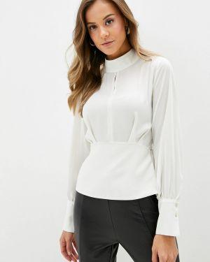 Блузка с длинным рукавом белая турецкий Adl