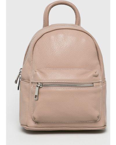 Кожаный рюкзак розовый Answear