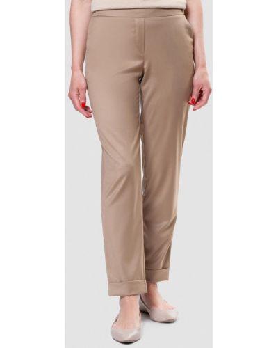 Повседневные бежевые брюки Arber