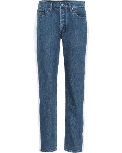 Прямые джинсы mom спортивные Calvin Klein Jeans