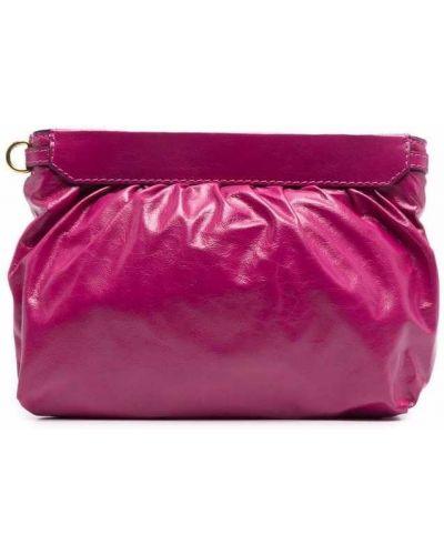 Złota kopertówka - różowa Isabel Marant