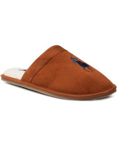 Kapcie - brązowe Polo Ralph Lauren