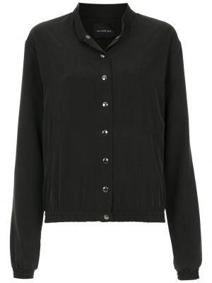 Черная длинная куртка Olympiah