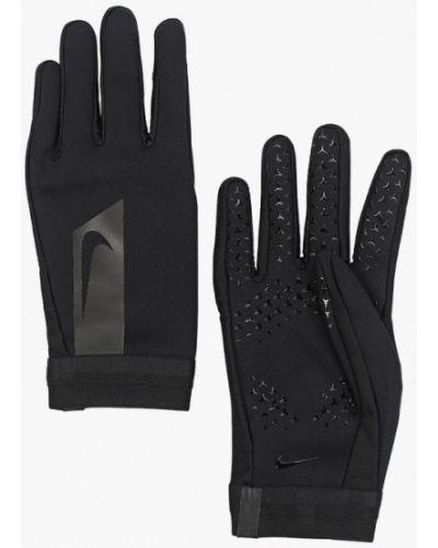 Черные перчатки Nike