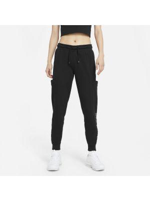 Spodnie bawełniane z siateczką Nike