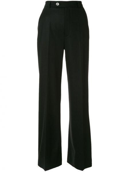 Шерстяные черные брюки с карманами Giambattista Valli