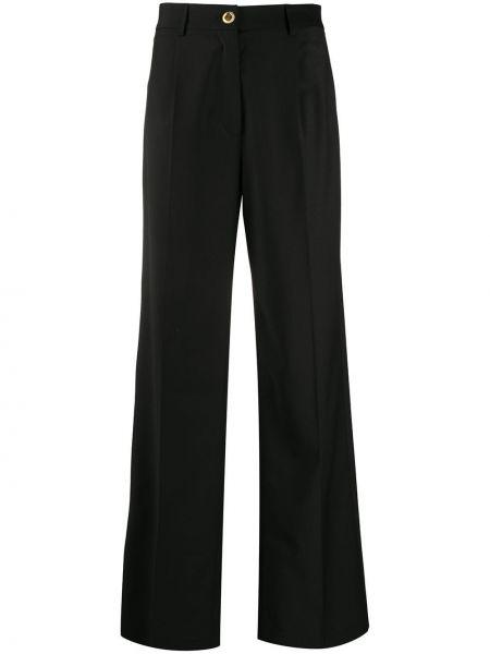 Szerokie spodnie elastyczne z kieszeniami Seen Users