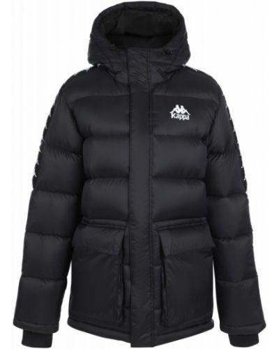 Пуховая куртка - черная Kappa