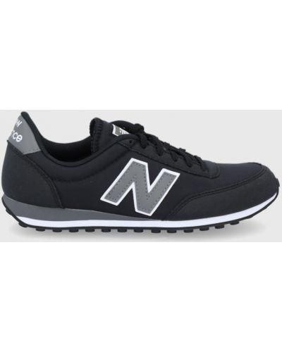 Czarne sneakersy sznurowane New Balance