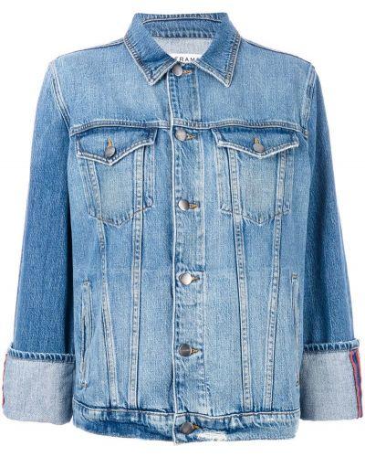 Джинсовая куртка на пуговицах классическая Frame Denim