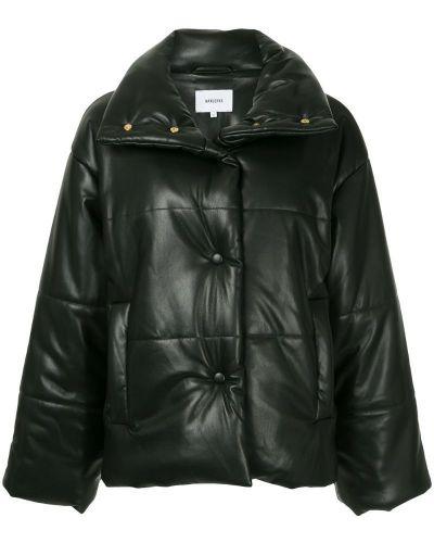 Куртка оверсайз черная Nanushka