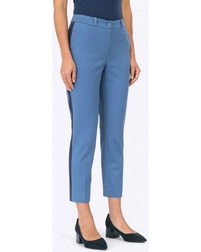 Синие зауженные брюки Emka