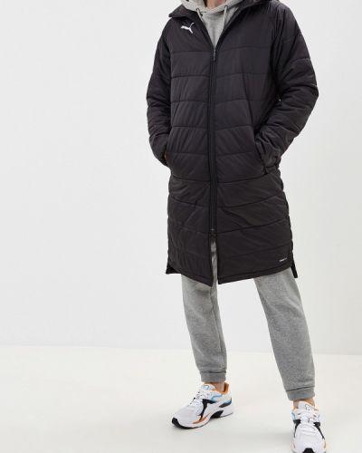 Утепленная куртка черная осенняя Puma
