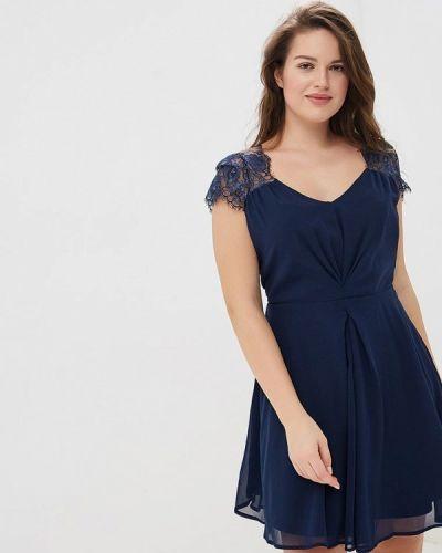 Вечернее платье синее Yumi