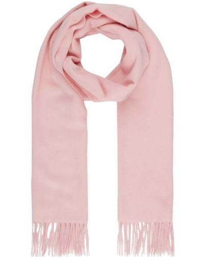 Różowa ciepła z kaszmiru szal Fraas