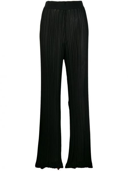 Черные брюки на резинке Litkovskaya