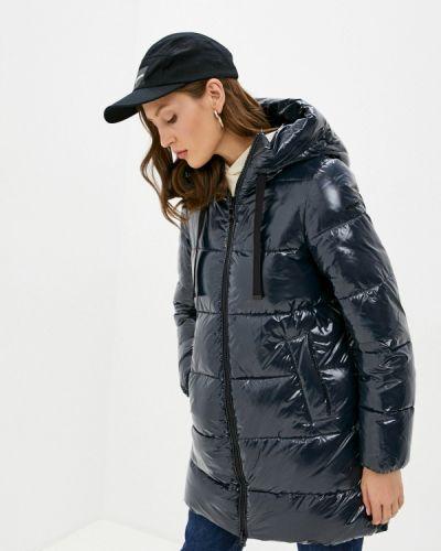 Теплая синяя зимняя куртка Geox