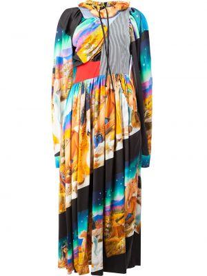Sukienka z wiskozy Aalto